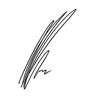 Adil Dinani's signature